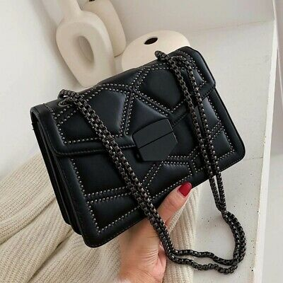 $ CDN54.07 • Buy Fashion Shoulder Bag Lady Luxury Small Handbags Chain Crossbody Bags For Women
