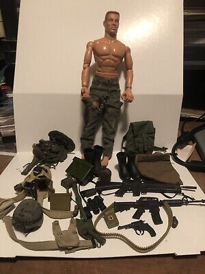 $ CDN10 • Buy 1996 Gi Joe Action 11 Inches With Lots Of Accessories Check Pictures