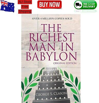 AU9.69 • Buy The Richest Man In Babylon - Original Edition Paperback Book - NEW FREE SHIPPING