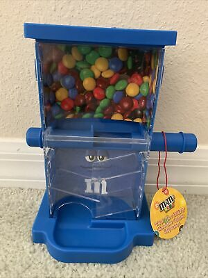 $24.70 • Buy M&M's World Zig Zag Blue Candy Dispenser New With Tags