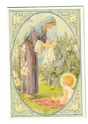 Margaret Tarrant Mary With Baby Jesus Medici Easter Greeting Card • 1.75£