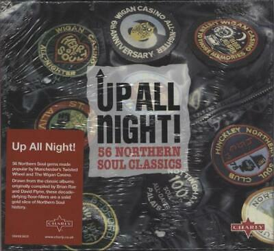 Various-60s & 70s Up All Night! 56 Northern Soul Classics UK 2-disc CD/DVD Set • 16.49£