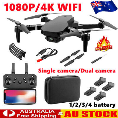 AU54.69 • Buy 4K HD Drone S70 Pro With Dual Camera Drones WiFi FPV Foldable RC Quadcopter AU!