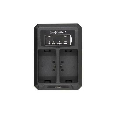 ProMaster Dually Charger USB Canon LP-E6N - 4560 • 22.15£