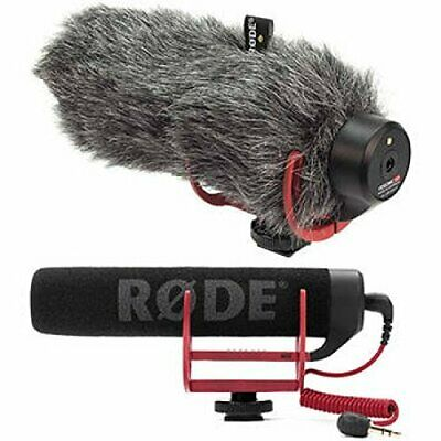 Rode VideoMic GO On-Camera Shotgun Microphone And DeadCat Wind Cover Kit • 114.49£