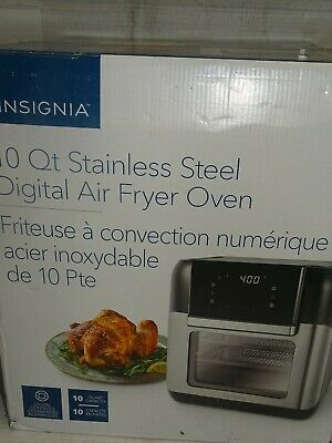 $ CDN52.02 • Buy Insignia Air Fryer Oven - 9.46L/10QT - Stainless Steel (NS-AFO6DSS1) (DESU)