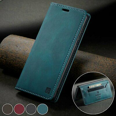 $ CDN8.43 • Buy For Samsung S21 Ultra S20 FE Note20 S10 Plus S9 S Flip Leather Wallet Case Cover