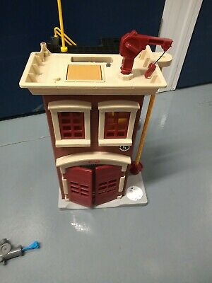Imaginext Foldable Firestation Fire Station Playset With Fire Truck  • 5.99£
