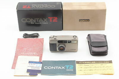 $ CDN1611.24 • Buy [Almost Unused] Contax T2 Titan Silver 35mm Point & Shoot Film Camera From JAPAN