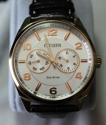 $ CDN99 • Buy Citizen Eco-drive Men's WATCH Rose Gold Stainless Steel A09023-01A Pre-owned