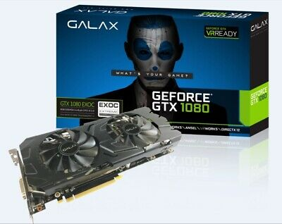 $ CDN823.39 • Buy GALAX NVIDIA GeForce GTX 1080 EXOC FS 8GB GDDR5X Graphics Card