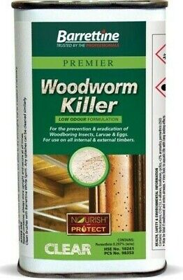 £9.50 • Buy Brand New Woodworm Killer Fast And Effective Treatment For Wood-Worm 250ml UK