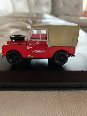 Land Rover Series 1 One Model Car 1:43 Scale Howdens Joinery Oxford Diecast K8 • 5£