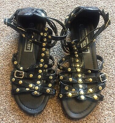 Worn Once Size 3 Gladiator Sandals By Rebel Heart • 2£