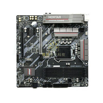 AU246.69 • Buy FOR MSI Z370M MORTAR Motherboard Supports 8/9th Generation 8700 100% Test Work