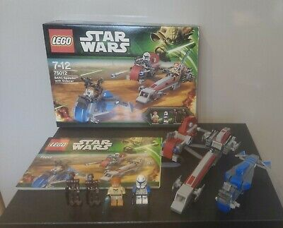 £189.99 • Buy Lego Star Wars - 75012 BARC SPEEDER WITH SIDECAR *CAPTAIN REX AND ORIGINAL BOX*