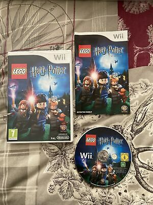LEGO Harry Potter: Years 1-4 (Nintendo Wii, 2010) With Manual • 8.49£