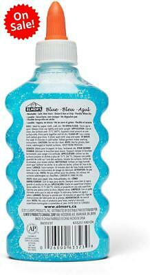 AU5.99 • Buy Liquid Glitter Glue, Washable, Blue, 6 Ounces-1 Count - Great For Making Slime
