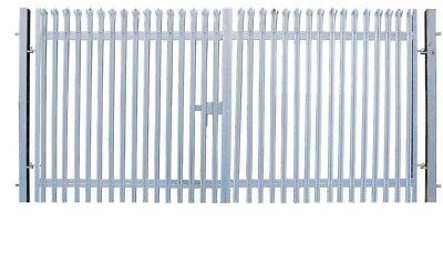 £150 • Buy 2.4 Or 1.8 High Double/single Palisade Security Gates With Posts