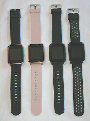 $ CDN16.18 • Buy Q7 Sport Smart Watch YOU CHOOSE Black Pink Gray Rose Gold IOS Android Fitness