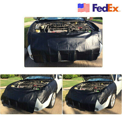 $25.82 • Buy Car Mechanic Magnetic Fender Covers Car Paint Protector Pads 53x25 +17x45  USA