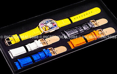 $ CDN84.63 • Buy Invicta Men GRAND LUPAH BRITTO Lt Ed Rose Gold Yellow 41mm Watch 5 Leather Strap