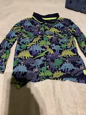 Boys Bluezoo Dinosaur Long Sleeve Tshirt Age 4-5 Years  • 4.50£