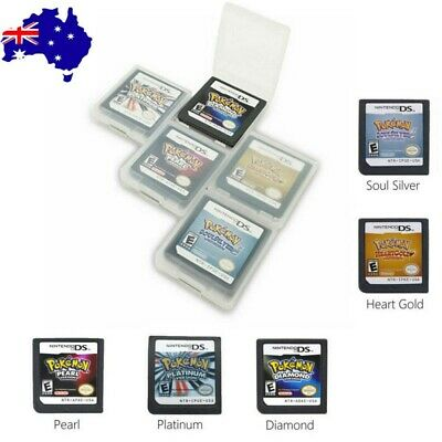 AU28.99 • Buy For 3DS NDSI NDS NDSL Pokemon HeartGold SoulSilver Game Card US Version NEW AU