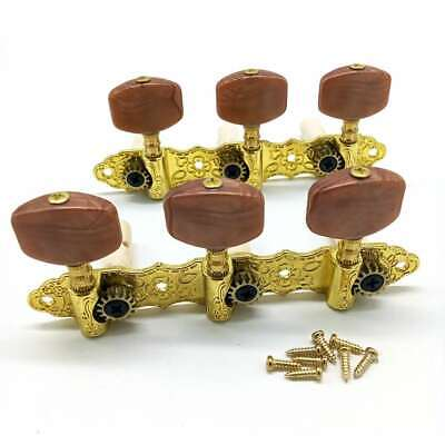 $ CDN13.49 • Buy Guitar String Tuning Pegs Tuners Machine Heads Keys For Classical Guitar Gold