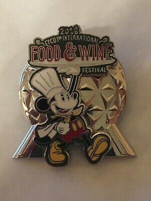 Disney Epcot Spaceship Earth Food & Wine  Festival 2018 Mickey Mouse Pin On Pin • 5.99£