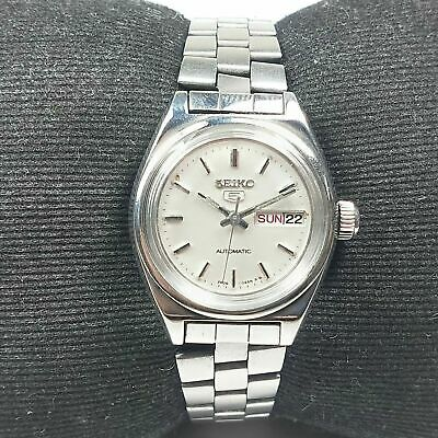 $ CDN11.42 • Buy Vintage Seiko Automatic Movement Day Date Dial Wrist Watch For Womens RV34