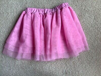 Girls TU Pink Netted Tutu Length 11  Age 6-7 Years Height 116-122cm • 2£