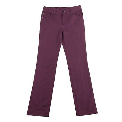 £10.88 • Buy L.L. Bean Girls Youth 12 Pants Jeans Chinos Purple Cotton Twill Adjustable Waist