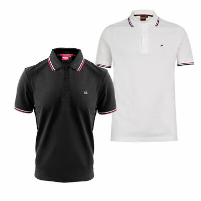 £39.99 • Buy Mens Merc London Card Polo Shirt With Tipped Collar