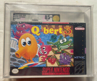 $ CDN1649.30 • Buy Qbert 3 Super Nintendo SNES Complete! Tested And Working! Take A Look!!!