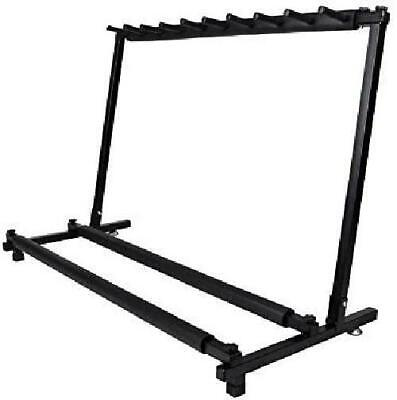 $ CDN98.89 • Buy TMS Guitar Stand 9 Holder Guitar Folding Stand Rack Band Stage Bass Acoustic ...