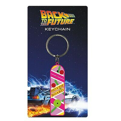 £2.99 • Buy Genuine Universal Back To The Future II Hoverboard Rubber Keyring Key Fob Gift