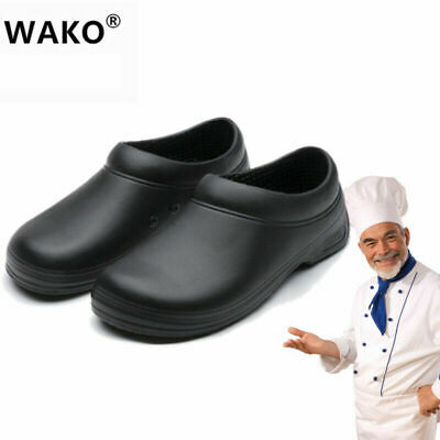 £20.98 • Buy Non-slip Chef Shoes Mens Womens Kitchen Hotel Work Safety Boots Nurse Shoes UK