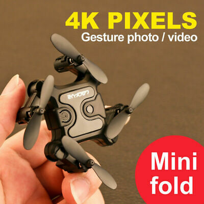 AU32.77 • Buy Mini 4DRC V2 Drone Selfie WIFI FPV With 4K HD Camera RC Quadcopter Toy Gift