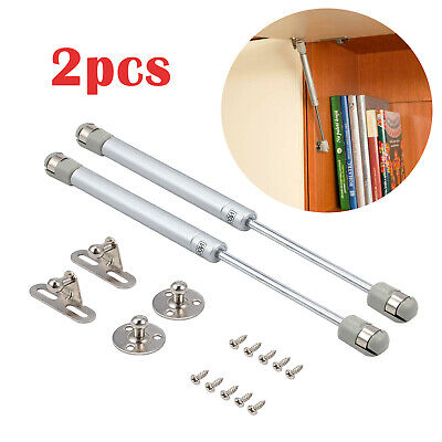 £7.55 • Buy 2X 200N Gas Strut Lid Support Stay Cabinet Spring Hinge Bar Kitchen Cupboard Box