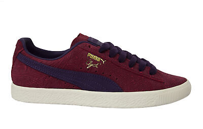 £39.99 • Buy Puma Classic Clyde Basket Paisley Leather Low Lace Up Mens Trainers 369279 01