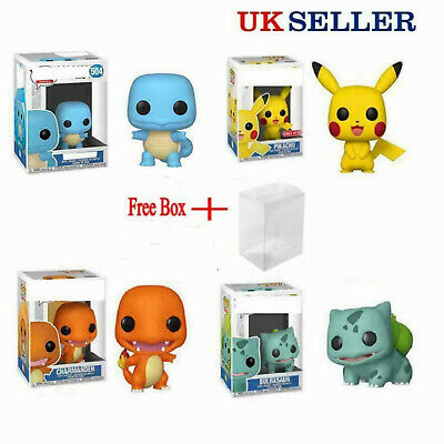 £8.88 • Buy UK FUNKO POP Pokemon Pikachu Squirtle Action Figures Collection Toys Gift W/Box