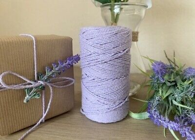 £1.15 • Buy Lilac Solid Colour Bakers Twine Craft Parcel String 1m-100m