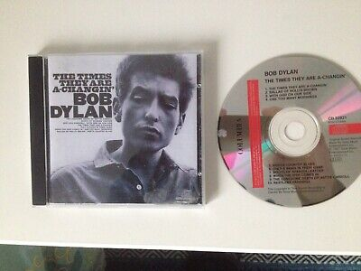 Bob Dylan – The Times They Are A Changin' (1964). CD Very Good Condition • 5£
