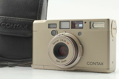 $ CDN249.95 • Buy [Exc+5 Case] Contax Tix Carl Zeiss Sonnar T* 28mm F2.8 APS Camera From JAPAN