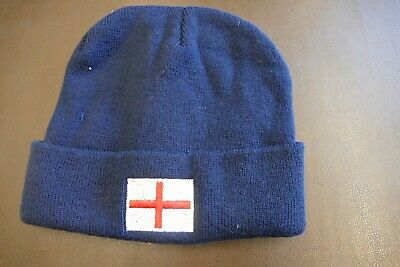 £2.50 • Buy England St George  Winter Acrylic Beanie Hat One Size - New