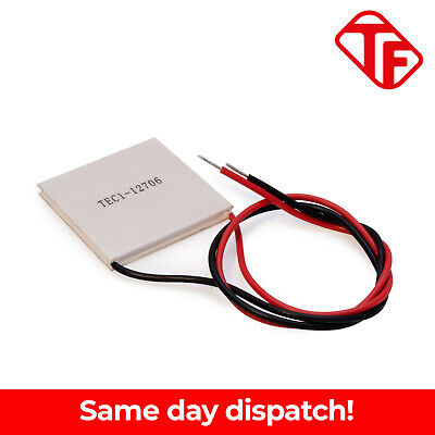 £3.79 • Buy TEC1-12706 Thermoelectric Cooler Cooling Peltier Plate Module 12V 60W