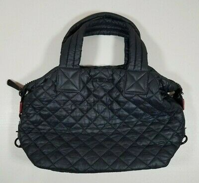 AU235.96 • Buy MZ Wallace Small Sutton Black Quilted Bag Purse