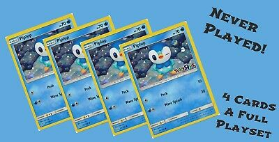 $14.99 • Buy 4x Pokemon Piplup Card TOYS R US Promo Holo Never Played New Playset