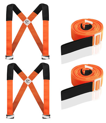 AU39.95 • Buy Heavy Furniture Appliances Moving Straps Rope Transport Lifting Belt System Tool